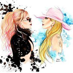 Amazing Gaga art!