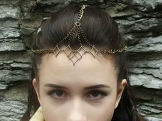 Bronze Crown - Bronze Hair Jewelry - Ren Faire - Viking Cosplay - Bridesmaid Jewelry - Handfasting - Bronze Circlet Medieval Jewelry