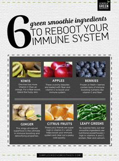 6 ways to Reboot Your Immune System - Simple Green Smoothies
