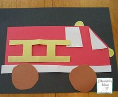 Fire Truck Games and Activities for Kids- This is a collections of games, crafts, and free math worksheets that all have a fire truck or fire fighter theme.