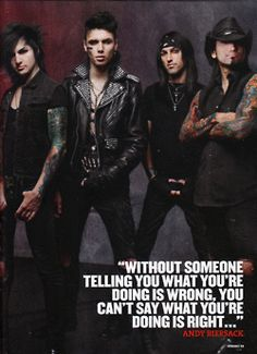 Discovered by マディソン. Find images and videos about black veil brides, andy biersack and ashley purdy on We Heart It - the app to get lost in what you love. Jake Pitts, Black Veil Brides Andy, Black Viel Brides, Good Charlotte, Andy Black, Asking Alexandria, Andy Biersack, My Chemical Romance, Vail Bride