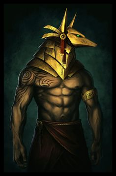 This Anubis The Death God - Egyptian Art - Handmade Oil Paintings On Canvas is just one of the custom, handmade pieces you'll find in our oil shops. Egyptian Mythology, Egyptian Art, Tatoo Anubis, Egypt Concept Art, Death God, Ancient Egypt Art, Arabian Art, Gods And Goddesses, Mythical Creatures