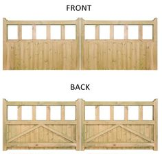 Burbage Quorn Double Wooden Driveway Gate The Burbage Quorn Double Wooden Driveway Gate is a beautifully grand and robust style of driveway gate, robust and simplistic in nature and constructed of… Wooden Garden Gate, Wooden Gates, Wooden Driveway Gates, Diy Driveway, Driveway Entrance, Driveway Landscaping, Front Gates, Entrance Gates, Diy Gate