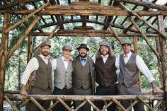 groomsmen in period attire // photo by katherinelizabethphotography.com