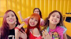 Jisso,Lisa, Rosé and Jennie BlackPink New Video