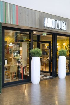 Ask Italian restaurant in Castleford by Turnerbates Design & Architecture