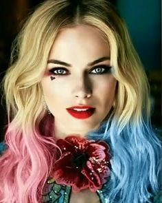 "Margot Robbie as Harley Quinn in ""Suicide Squad"" Arlequina Margot Robbie, Margo Robbie, Actress Margot Robbie, Margot Robbie Harley Quinn, Harley Quinn Et Le Joker, Harley Quinn Drawing, Harley Quinn Cosplay, Le Jocker, Harley Quenn"
