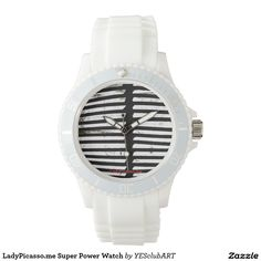 LadyPicasso.me Super Power Watch: created from original tetkaART