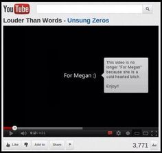 Well done, fuck whoever Megan is