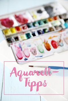 mein feenstaub – DIY, Deko, Design: {Drawing} Meine Aquarell-Tipps