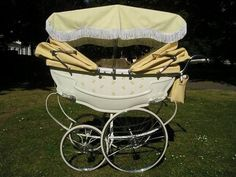 Wilson Twins 1960 Vintage Pram. Pinned for BabyBump, the #1 mobile pregnancy tracker with the built-in community for support and sharing.