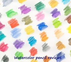 Having used watercolor pencils for many years, mostly in mixed media projects, here is a round-up of my favorite brands.