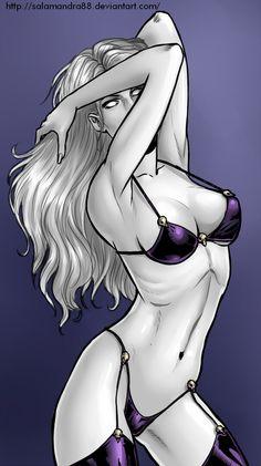 Lady Death by Salamandra88.deviantart.com on @deviantART