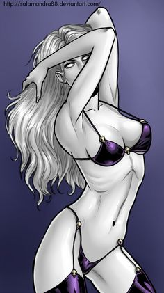 Lady Death by Salamandra88.deviantart.com on @deviantART