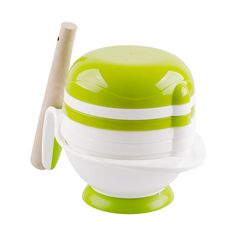 Mash & Serve Bowl in Green & White, 40% discount @ PatPat Mom Baby Shopping App