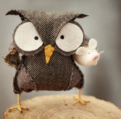cutest owl EVER! i NEED to make one! :)