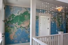 Great idea for using maps!