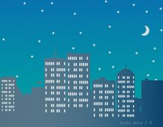 """Check out new work on my @Behance portfolio: """"Night_City"""" http://be.net/gallery/40757583/Night_City"""
