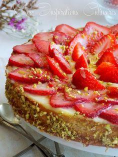 tarte aux fraises michalak a la creme amandine 1