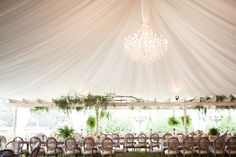 Rancho Santa Fe Wedding from Birds of a Feather + Amorology Wedding Table Flowers, Wedding Table Decorations, Tent Wedding, Wedding Venues, Tent Decorations, Magical Wedding, Wedding Places, Wedding Tables, Garden Wedding