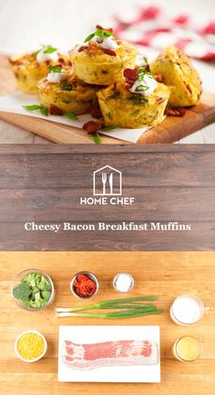 We love to get creative with the tools at our disposal, and these cheesy breakfast muffins are proof. Chances are you have a long-neglected muffin pan stashed away in your cabinet. It's time to put it to novel use with this easy, delicious breakfast of baked eggs with fresh broccoli, cheddar, roasted red peppers, and bacon. And since we can't get enough bacon in our lives, we top these eggy muffins with more bacon. Why not make the most important meal of the day your best?