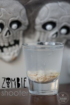 Zombie Shooter | Self Proclaimed Foodie - nothing says Halloween quite like slamming a brain.
