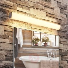 Applique LED de salle de bains Alexia pour miroir-9621546-31 Alcove Bathtub, Bathroom, Alcove