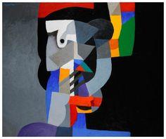 Colourful Mask (2011) - Dia Azzawi