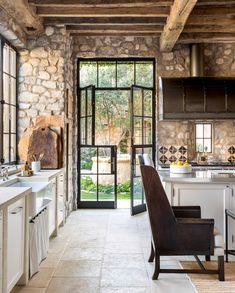 66 Amazing Rustic French Country Cottage Kitchen Ideas - Have Fun Decor - Rustic French Country Cottage Kitchen 15 Best Picture For country home decor For Your Taste You a - House Design, Country Cottage Kitchen, Rustic Kitchen Design, French Country Cottage Decor, Rustic Country Kitchens, House Interior, Sweet Home, Rustic Interiors, Rustic House