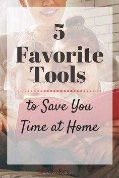 Do you have something that you don't know how you ever managed without? Right now, I have 5 favorite tools that save me tons of time at home, and reduce stress. via @applesandor0079