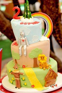 """veja ideias para fazer uma festa de aniversário com o tema """"o mágico de oz"""""""