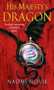 Bk. 1 Have listened to CD. When HMS Reliant captures a French frigate & seizes its precious cargo, an unhatched dragon egg, fate sweeps Capt. Will Laurence from his seafaring life into an unexpected kinship w/a most extraordinary creature. As master of the dragon Temeraire, he will face the rarified world of the Aerial Corps &a crash course in the daring tactics of airborne battle  in order to fight France's own dragon-borne forces rally to breach British soil in Bonaparte's boldest gambit.