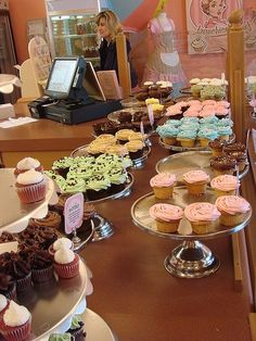 If I ever get open my dream bakery/boutique!  Yummy treats and adorable aprons will be everywhere!
