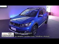Nova Saveiro 2017 - Detalhes - NoticiasAutomotivas.com.br - YouTube
