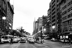 Avenida Juarez Downtown Mexico City 1964