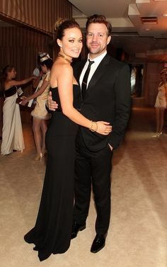 Olivia Wilde and Jason Sudeikis @ Oscar Party