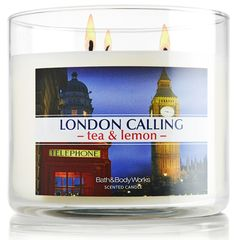 I'm going to need this Spring 2013 candle from @Bath & Body Works!  London Calling Tea & Lemon