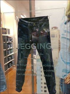 Sucker for Jeggings Suction Cup Visual Merchandising