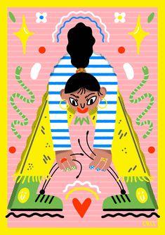 Apocalypse - Poba Magazine - Carol Rollo - Illustrator Deep Brain Stimulation, Loss Of Balance, To My Mother, Chronic Illness, Apocalypse, Joy, Magazine, Illustration, Perception