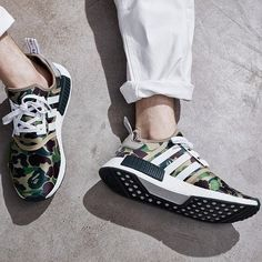 Adidas Originals and BAPE are back with a release celebrating the best of both brands. Dropping in select markets worldwide November 26th, and Western Europe December 22nd. #NMD