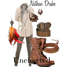"""Nathan Drake by """"inhaleairexhalelife"""" - absolutely fantastic."""