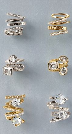 fun slim stackable rings http://rstyle.me/n/kmj8vr9te