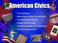 PowerPoint slides custom designed to meet the needs of U.S. Civics teachers. Over 130 unique slides covering all aspects of American Government.  Download entire set for $1.00.