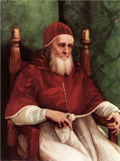 Raphael - Portrait of Pope Julius II, c. 1511-12