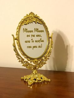 A personal favorite from my Etsy shop https://www.etsy.com/listing/449412326/mirror-mirror-on-the-wall-here-is