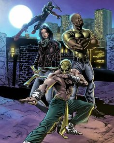 Marvel's The Defenders By Eric Jimenez