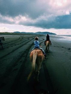 Riding horses on beach... one of the fondest memories of my childhood.