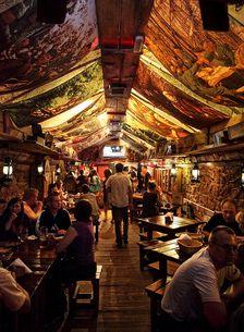Kryjivka - underground WWII bunker turned restaurant in the Ukraine