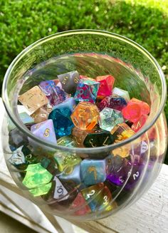 """dicealley: """"New dice storage? New dice storage. """" Dungens And Dragons, Dungeons And Dragons Dice, Cool Dnd Dice, What Makes Me Me, Dragon Dies, Oddly Satisfying, Game Night, Goblin, Decir No"""