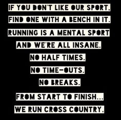 We run cross country  … #RunnerMotivation , #Junior10K, #Running, Follow us on FB - www.facebook.com/...